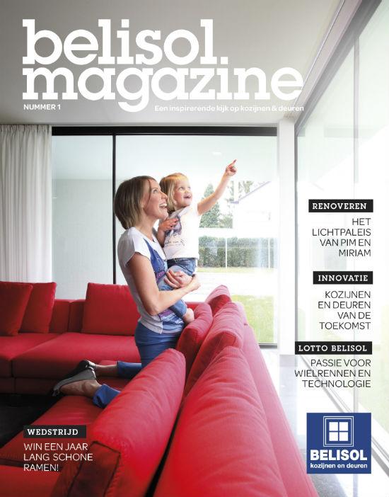 Belisol Magazine – B2C magazine voor klanten en prospecten. Redactie en interviews met architecten.