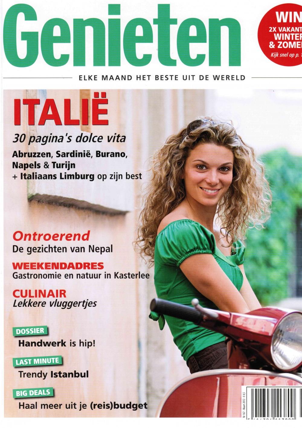Genieten – Reismagazine. Reisreportages en reiscolumns