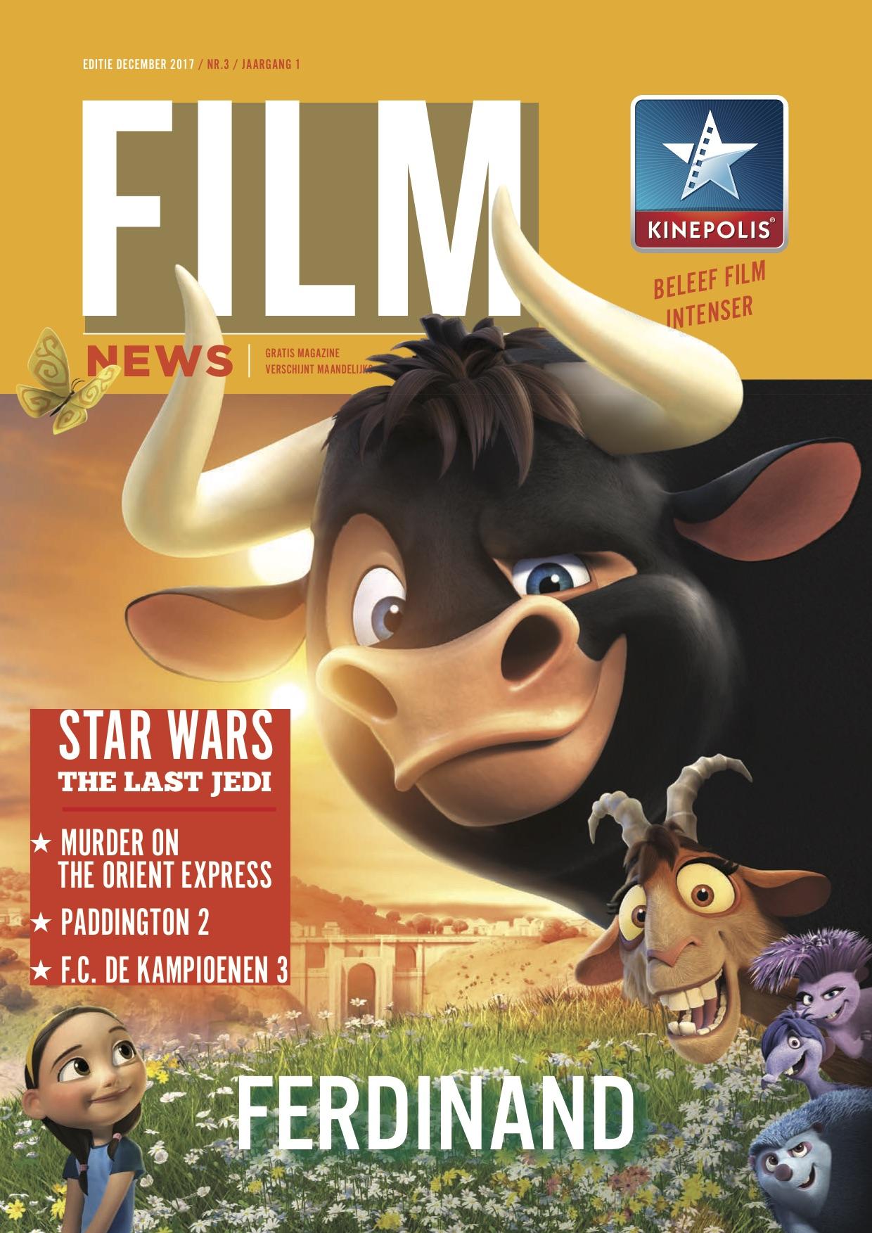 Kinepolis Film News – B2C filmmagazine van Kinepolis met informatie over de nieuwste blockbusters. Redactie.