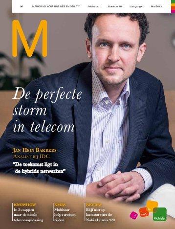 M Magazine – B2B Magazine van het voormalige Mobistar, nu Orange. Redactie gericht op ICT-beslissingnemers.