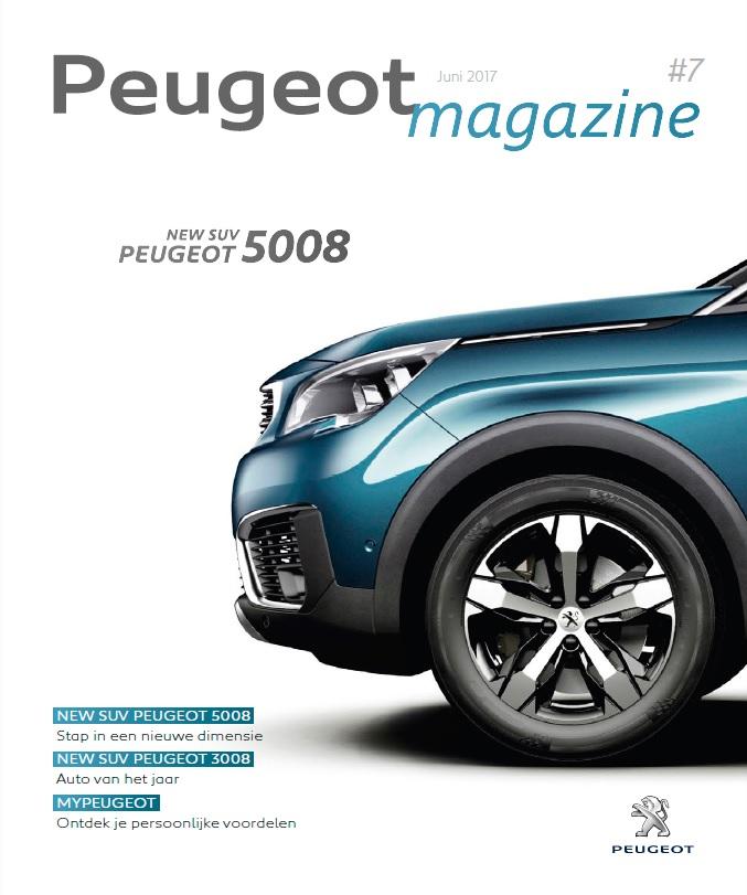 Peugeot Magazine - B2C magazine voor klanten van het automerk. Volledige redactie van het magazine.