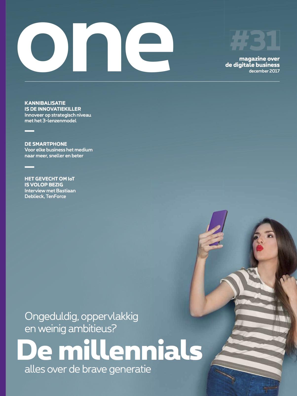 Proximus ONE - B2B magazine van Proximus, gericht op de CIO en ICT-beslissingnemers in grotere bedrijven. Redactie en interviews met CEO's.