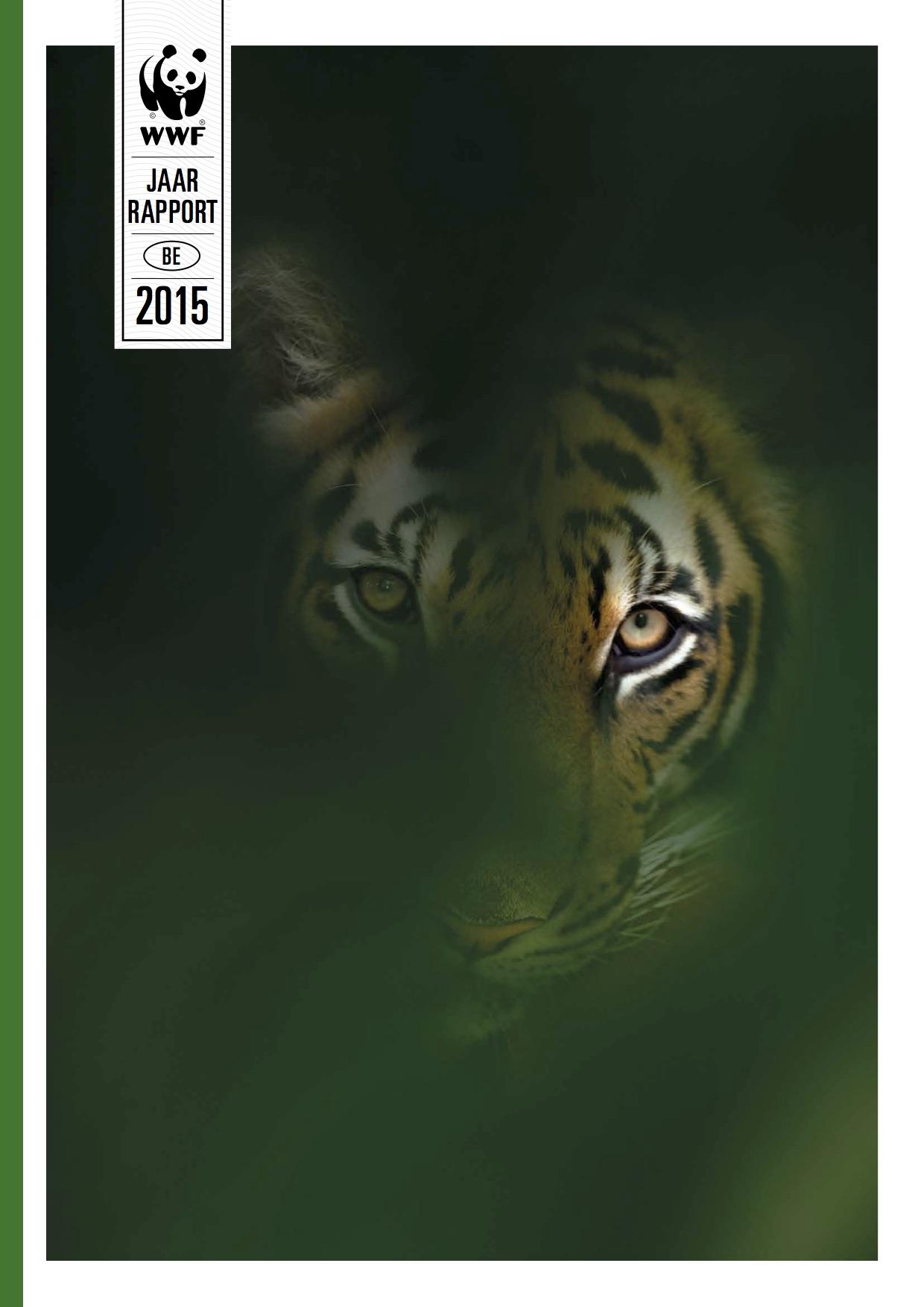 WWF - Jaarrapport. Volledige redactie van het jaarrapport.